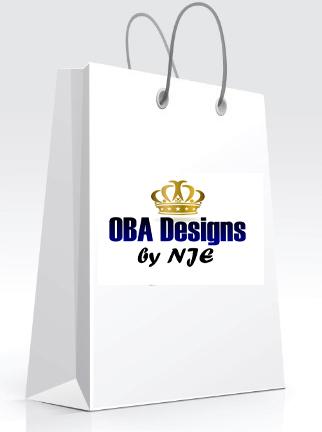 White shopping bag - OBA